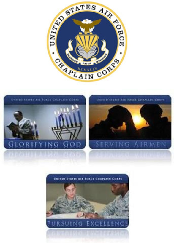 Chaplain graphic (U.S. Air Force graphic)
