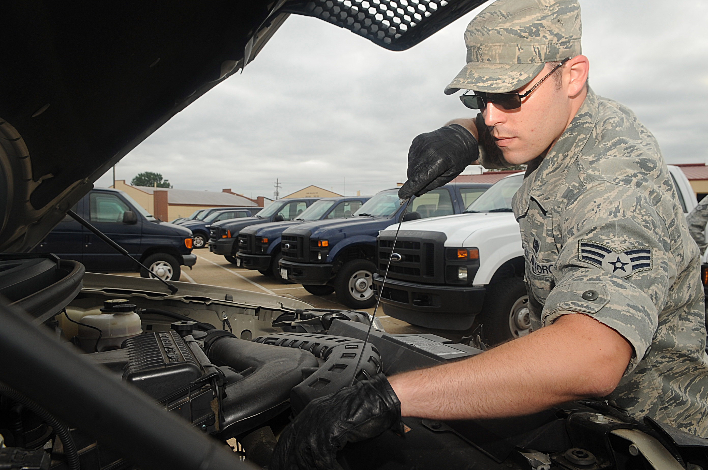 Vehicle operations move Barksdale Airmen > Barksdale Air Force ...