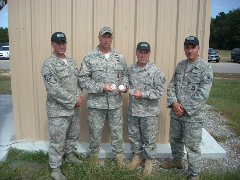 The 107th Gun Fighters will now go on to represent the NY National Guard inthe National Winston P. Wilson Small Arms Sustainment Match,  Camp Robinson,ArkansasAttached Picture's  Left to right:  TSgt Christopher Doherty - MSgt Edward Stefik - TSgt Warren Jones - SSGT Erik Johnson (Air Force Photo/SFS)