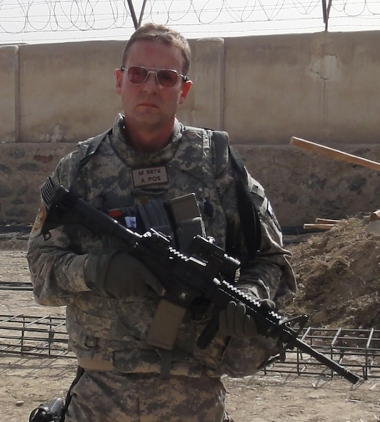 "Maj. Grady ""Jed"" Morton is a lawyer for the Air Force Reserve who is not afraid to go outside the wire to help build a case."
