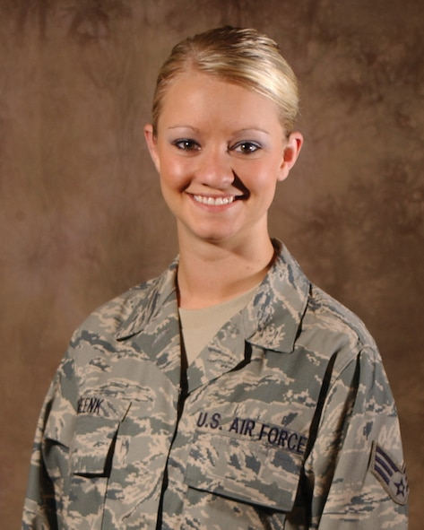 SIOUX FALLS, S.D. - Senior Airman Jenna Smeenk was selected as the 114th Fighter Wing Junior Enlisted Council member of the quarter for 2nd Quarter in July.  The Junior Enlisted Council chooses their recipients based on volunteering, participation, and an essay submission.  Airman Smeenk is a member of the Operations Group Intel section and has been a member of the South Dakota Air National Guard since 2007.