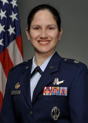 Lt. Col. Arlene Collazo, 21 Space Operations Squadron, Det. 2 commander