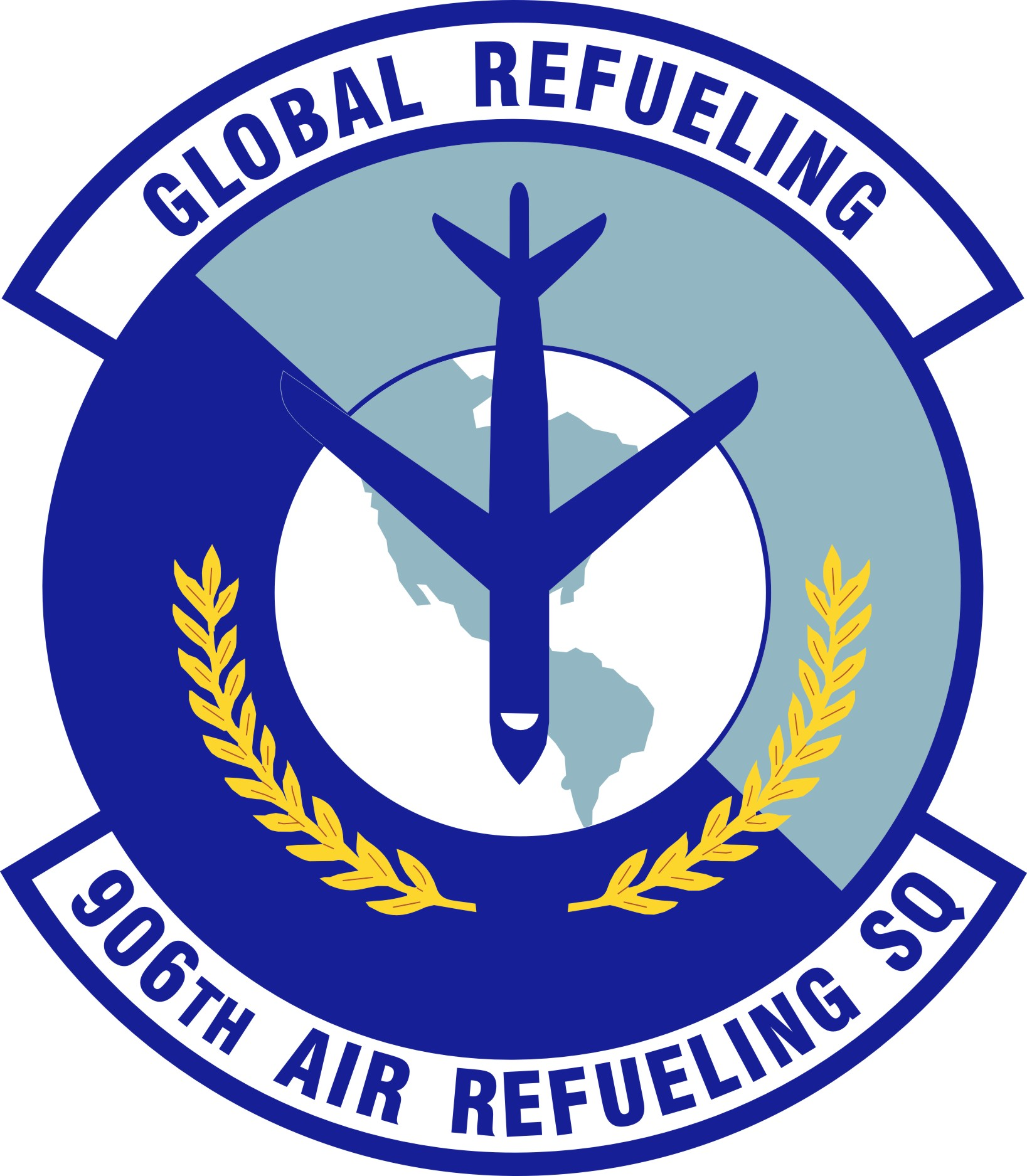 906th Air Refueling Squadron Gets Updated Patch