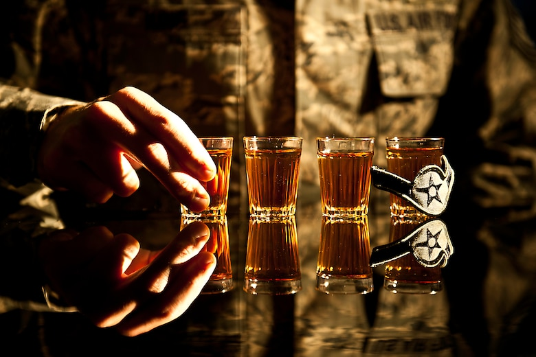 Ensuring a military member's awareness of the limitations and consequences of alcohol abuse and driving under the influence can have on a career could prevent them from crossing the line of another drink or the decision to get behind the wheel.  To learn more about the consequences of and alcohol abuse, call Alcohol, Drug Abuse Program and Treatment at 883-8373.  (U.S. Air Force photo/Samuel King Jr.)