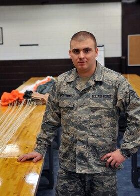 Staff Sgt. Anthony Sportsman, 51st Operations Support Squadron. (U.S. Air Force photo/Staff Sgt. Craig Cisek)