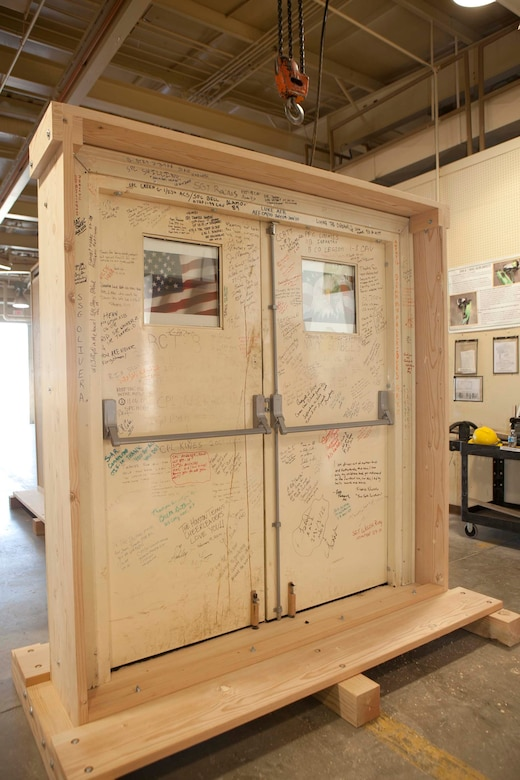 Walls of Balad to be on display at the 2012 Open House at Davis-Monthan Air Force Base, Ariz., April 14-15, 2012. (Courtesy photo/Released)