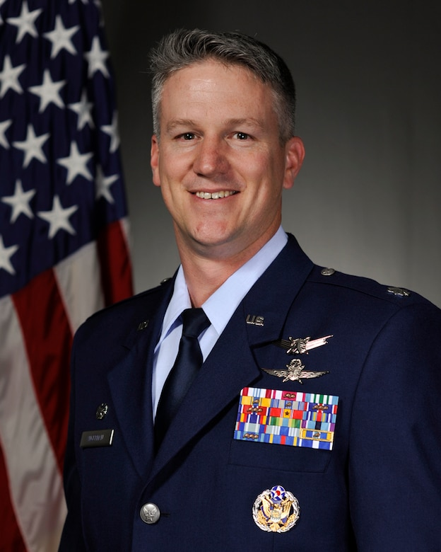 Lt. Col. William Angerman, 22nd Space Operations Squadron commander