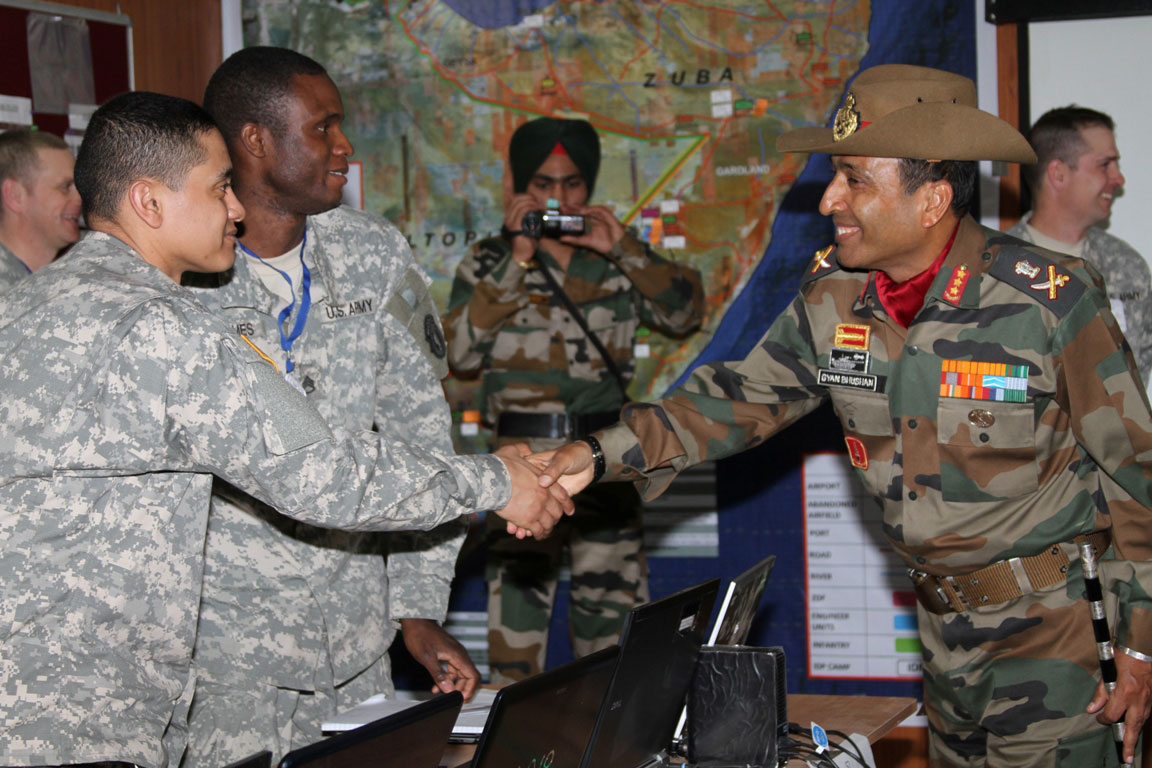 Exercise Yudh Abhyas Bridges Us Indian Army Engineers Joint