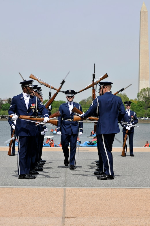 USAF Honor Guard Drill Team considered 'best of the best