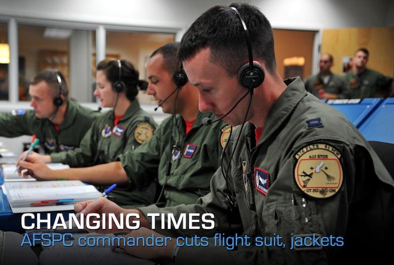 space command officials eliminate flight suit  jackets  u0026gt  u