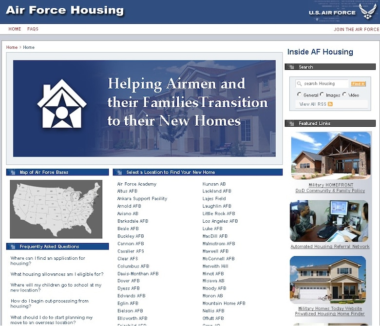Best Websites To Search For Apartments: New AF Housing Website Makes Moving Easier Than Ever