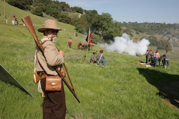 Stanislaus River Parks is the site of an annual Civil War buffs re-enactment.
