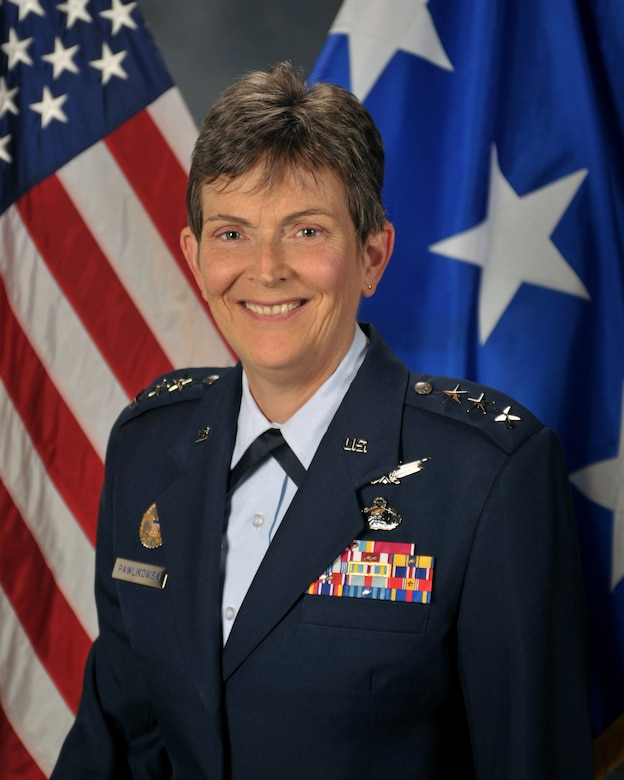 Official U.S. Air Force photo of Lt. Gen. Ellen M. Pawlikowski, commander, Space and Missile Systems Center, Los Angeles Air Force Base, Calif.
