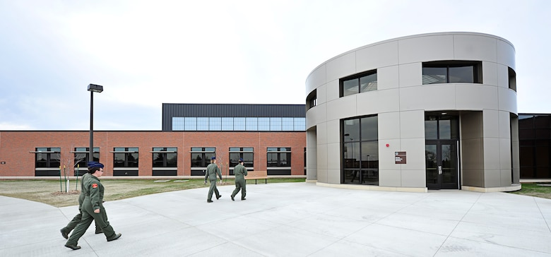 MINOT AIR FORCE BASE, N.D. -- The 91st Missile Wing Operations building was recently awarded a gold rating from the U.S. Green Building Council. (U.S. Air Force photo/Senior Airman Desiree Esposito)