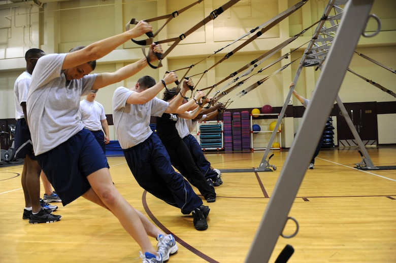 TRX suspension training, the new way to workout. > Seymour ...