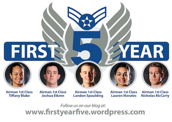 Follow five of Scott Air Force Base's newest Airman as tehy adapt to their first year in the military at www.firstyearfive.wordpress.com