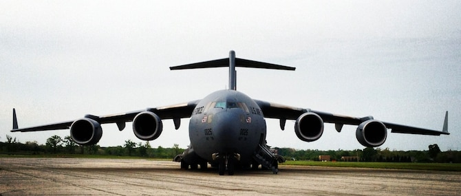 DAYTON, Ohio -- Boeing C-17 Globemaster III at the National Museum of the U.S. Air Force. (U.S. Air Force photo)