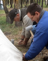 Corps of Engineers employees immerse themselves in local Native American culture