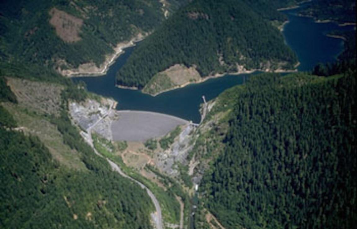 Blue River Dam