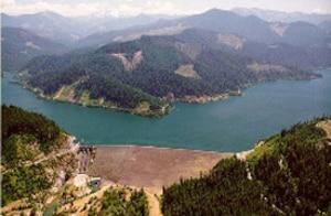 Hills Creek aerial phoot