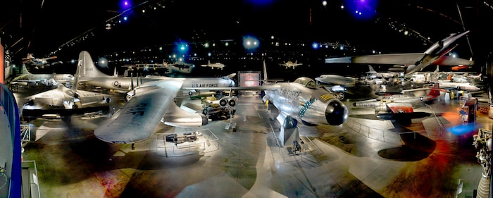 DAYTON, Ohio -- Cold War Gallery at the National Museum of the United States Air Force. (Air Force Museum Foundation photo by Dan Patterson)