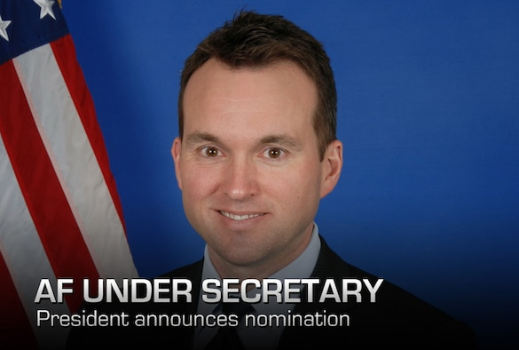 President Barack Obama announced Aug. 1 that he intends to nominate Eric Fanning, seen here in his official photograph, to be the next Under Secretary of the Air Force. Fanning is the Deputy Under Secretary and Deputy Chief Management Officer of the Department of the Navy, previously holding positions with the House Armed Services Committee, the White House, CBS News, the Commission on the Prevention of Weapons of Mass Destruction Proliferation and Terrorism, Business Executives for National Security, and the Office of the Secretary of Defense. (Courtesy photo)