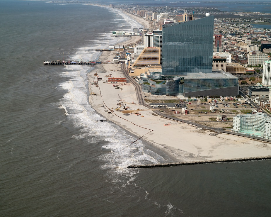 Atlantic City during construction