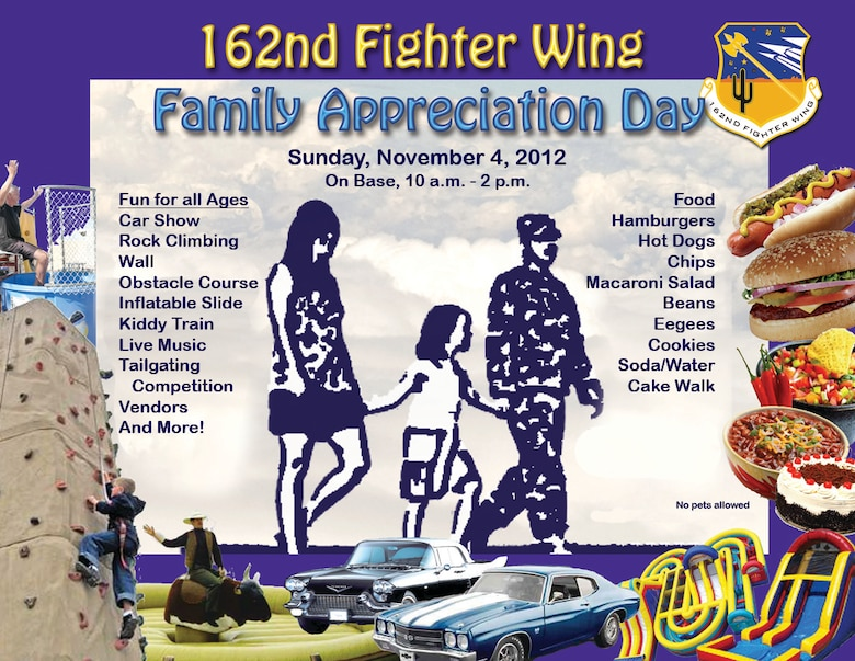162nd Fighter Wing Family Appreciation Day 2012