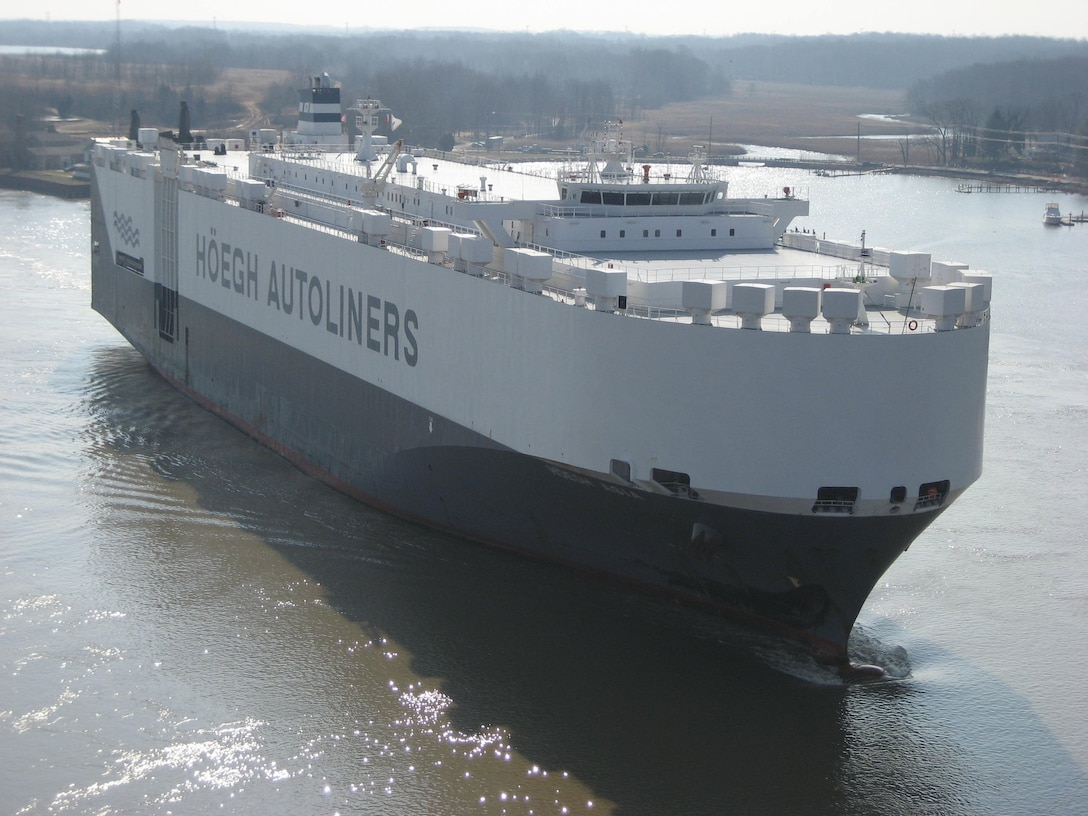 Approximately 40 percent of the shipping traffic in and out of the Port of Baltimore passes through Chesapeake & Delaware Canal. The Army Corps of Engineers Philadelphia District maintains the canal and the bridges that cross it.