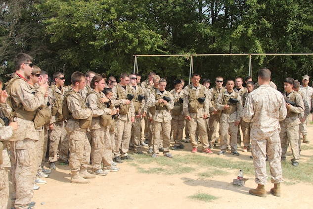 High School Students Brave Marine Officer Training In Inaugural