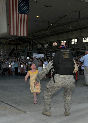 On July 10, 2012, about 200 104th Fighter Wing members returned home from a 90-day, Air Expeditionary Force deployment.