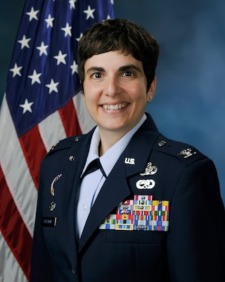 Col. Christine M. Erlewine, 902nd Mission Support Group commander. (Official Air Force photo)