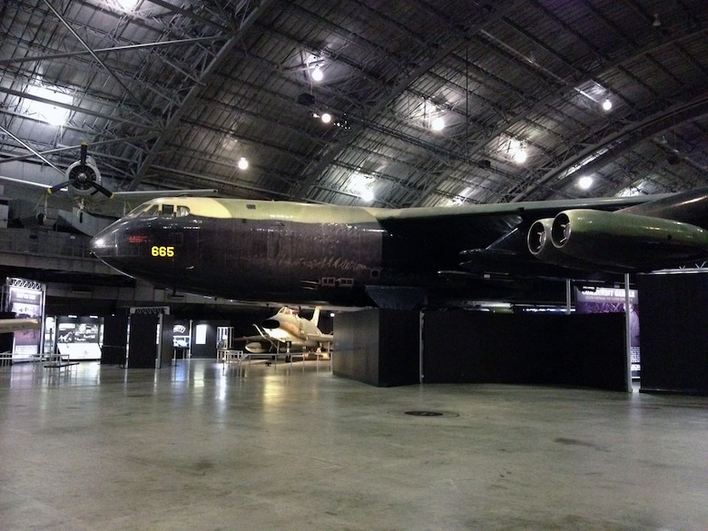 DAYTON, Ohio -- Boeing B-52D Stratofortress in the Southeast Asia War Gallery at the National Museum of the United States Air Force. (U.S. Air Force photo)