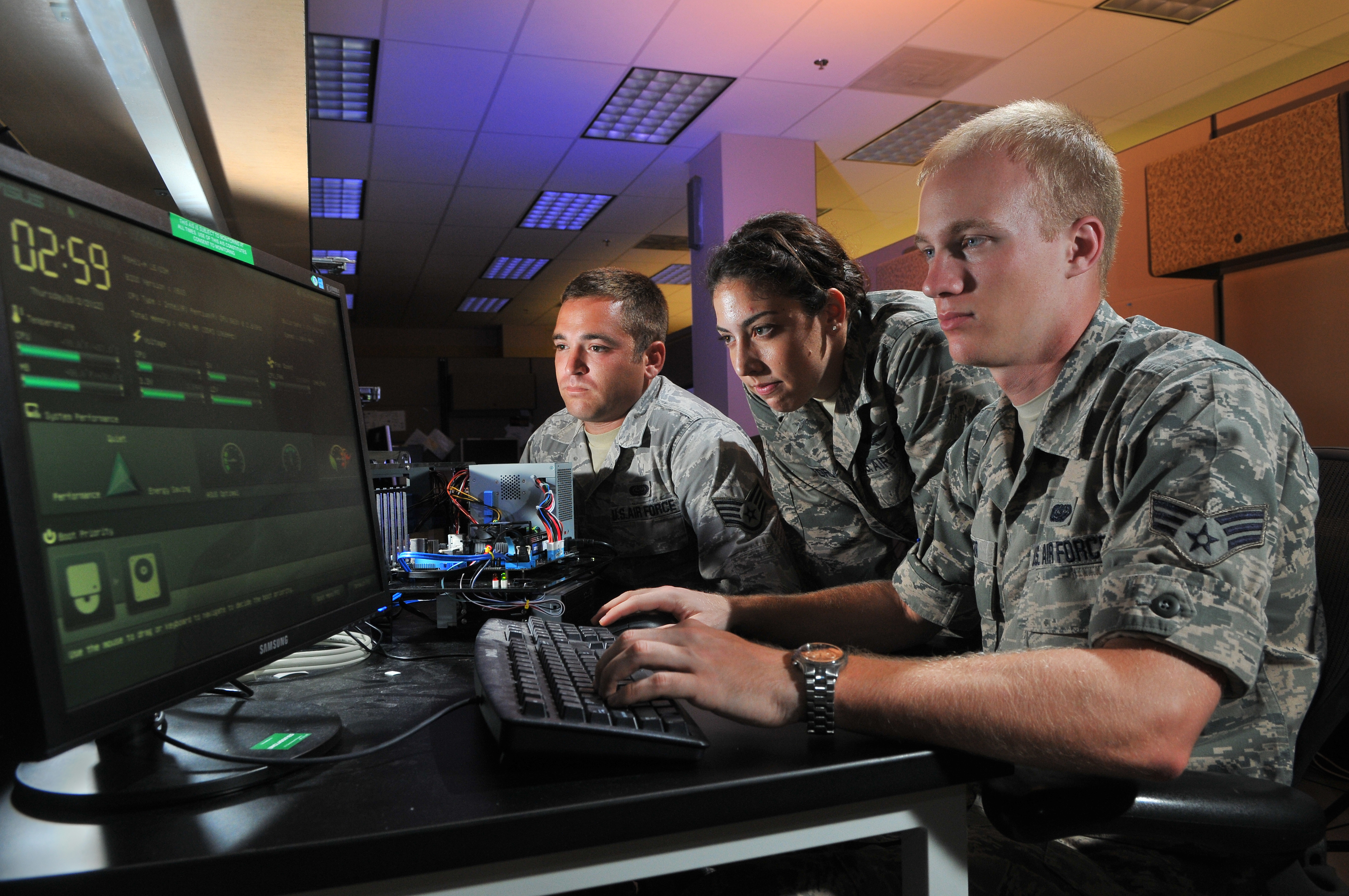 Af Competes In Second Cyber Flag Gt U S Air Force