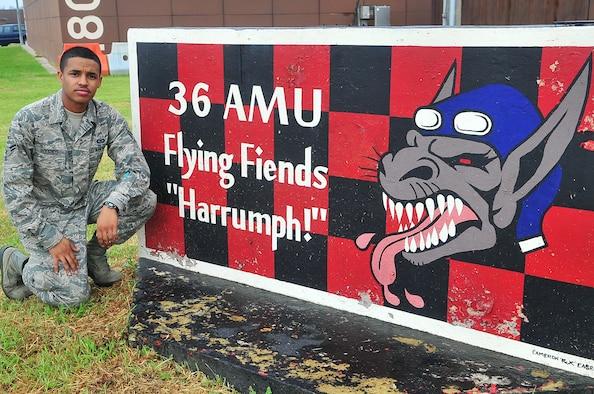 Airman 1st Class Justino Rodrigo, 36th Fighter Squadron. (U.S. Air Force photo/TSgt Raymond Mills)