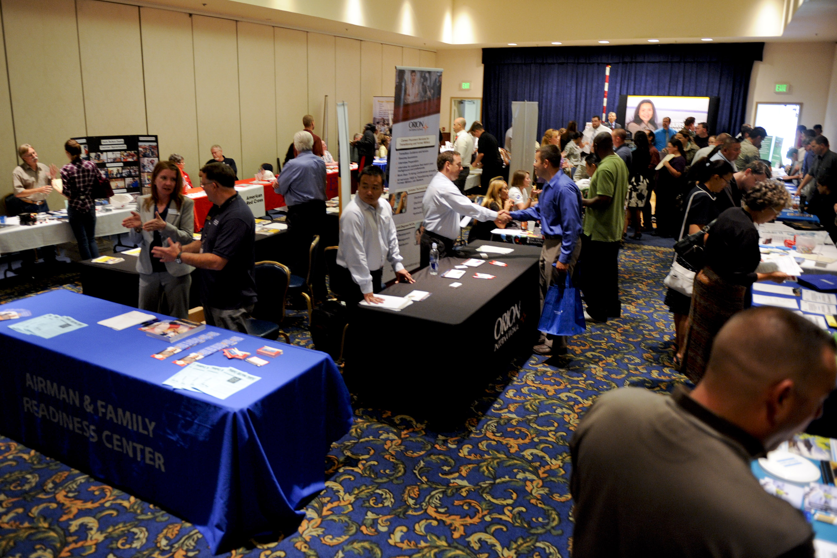 job fair held at pacific coast club
