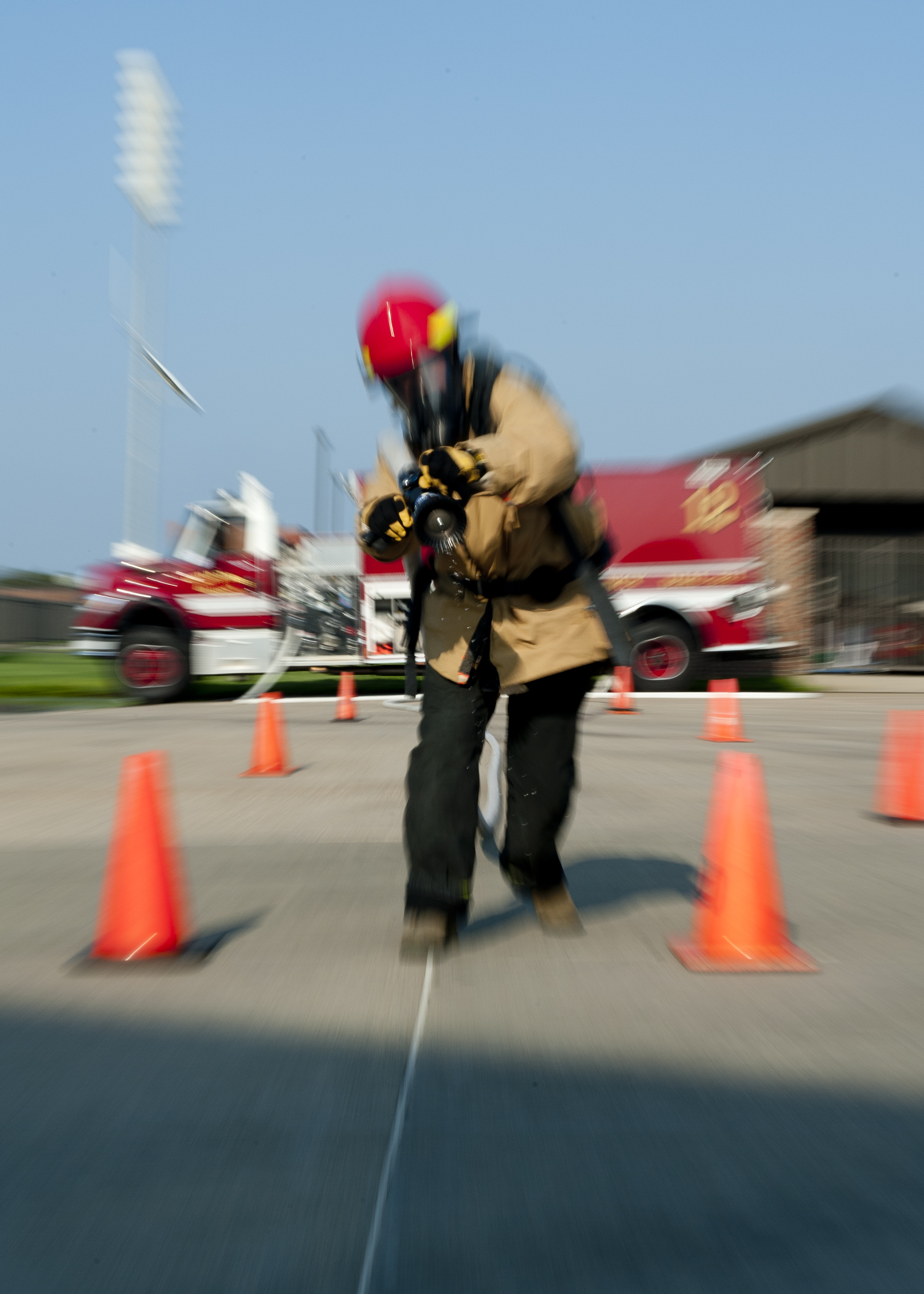 Gearing Up for the Firefighter Combat Challenge