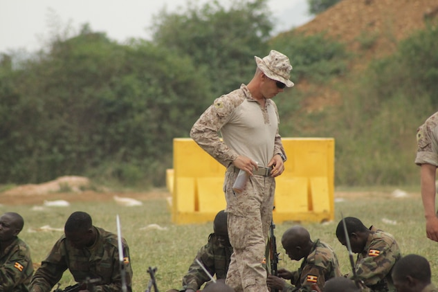 A small team of Marines from the 24th Marine Expeditionary Unit were sent on a unique mission in the east-central African country of Uganda.