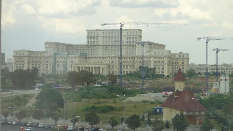 ROMANIA — Through a partnership with the U.S. European Command, the U.S. Army Corps of Engineers Europe District will oversee renovation of the basement of the world's second largest office building, Romania's Palace of the Parliament, remodeling it to be able to accommodate a new training classroom and conference room.