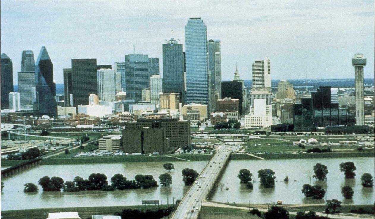Dallas Floodway 1989 floods