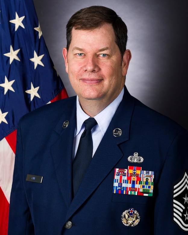 Chief Master Sgt. John Fine, OSI Command Chief.