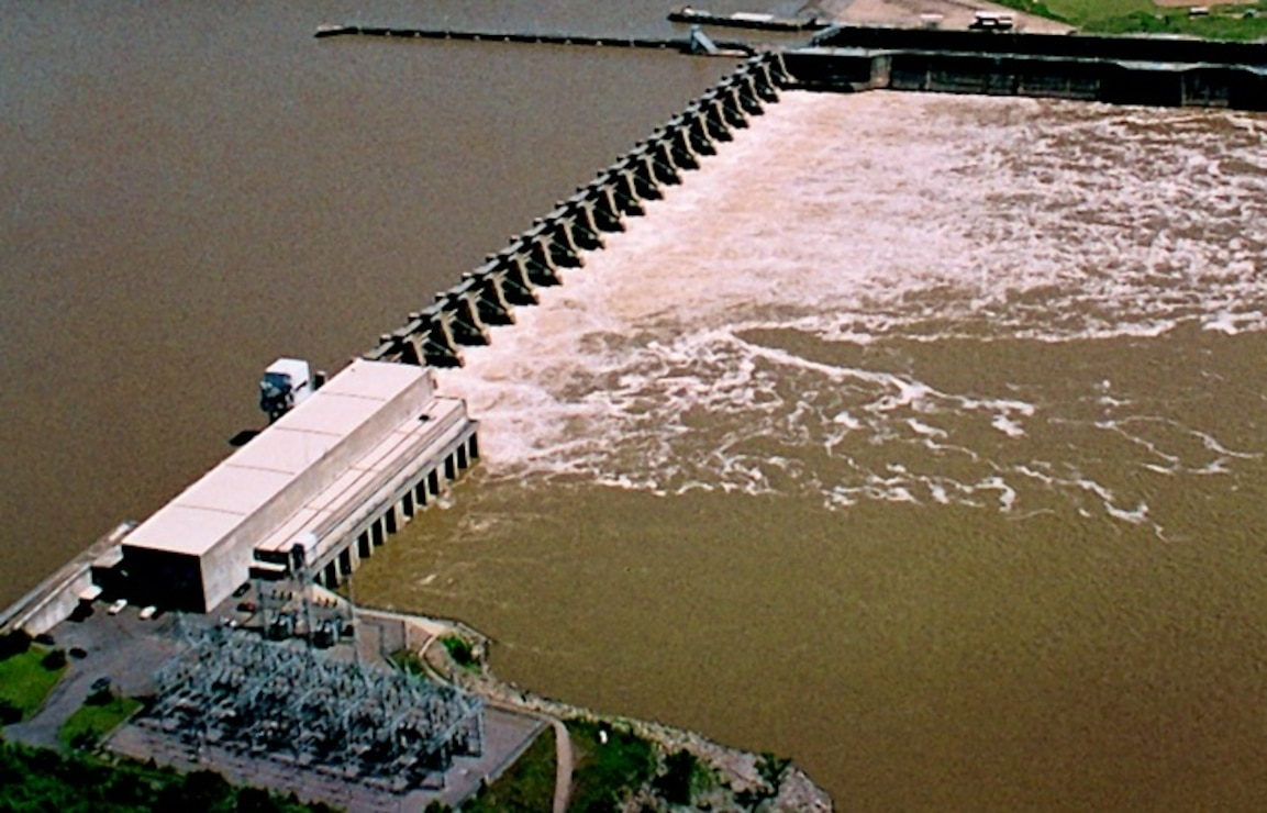 Hydropower production, Arkansas River