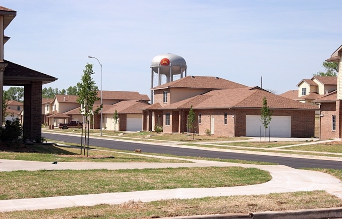 Fort Sill Oklahoma, Family Housing