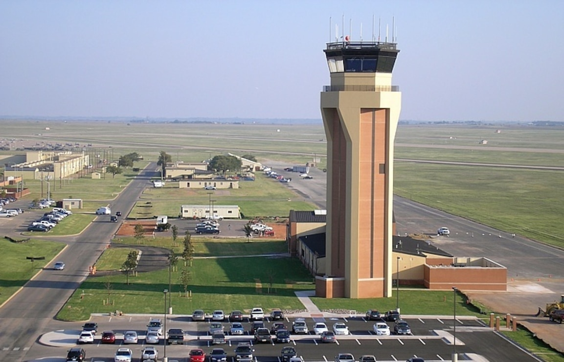 Air Traffic Control Tower, Sheppard Air Force Base, Texas