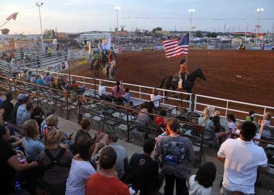 Annual Great Plains Stampede Rodeo Brings Altus Afb And