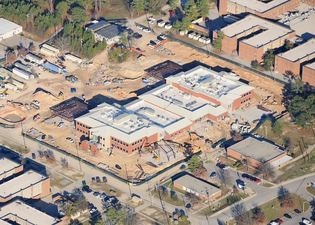 Quad DFAC Aerial View
