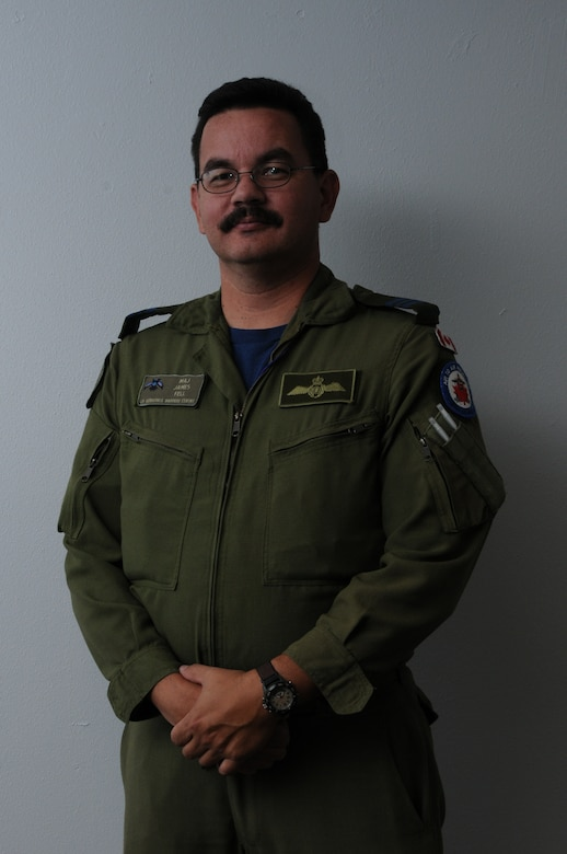 DAVIS-MONTHAN AIR FORCE BASE, Ariz. –  Maj. James S. Fell, a fighter pilot in the Canadian air force,  worked with the chief of combat operations during PANAMAX 2012 for Air Forces Southern. PANAMAX is an annual U.S. Southern Command-sponsored exercise that focuses on ensuring the defense of the Panama Canal.  One of the most important benefits of multinational exercises like PANAMAX is the fact that all the participants were able to exchange their experiences, expertise gained new knowledge about each other's culture and people.  These interactions strengthen our bonds across the region and foster long-lasting friendships and an understanding among the partner nations, ultimately benefiting the security of the region.