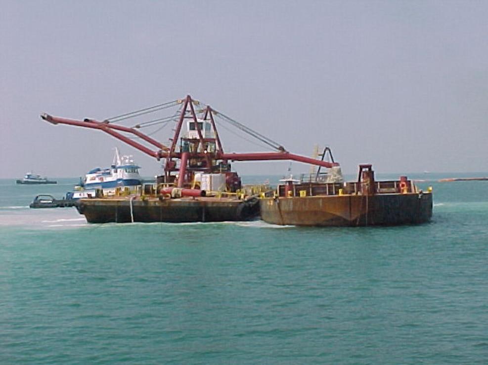 Spider Barge