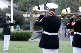 Marine Corps Base Camp Pendleton's Evening Colors Ceremony was held at the historical Santa Margarita Ranch House, Aug. 28.