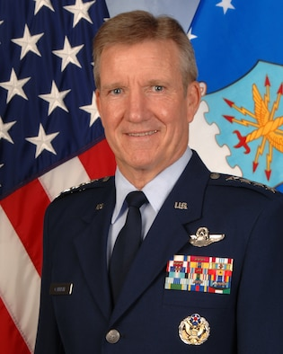 Gen. Herbert Carlisle Pacific Air Forces commander(U.S. Air Force courtesy photo/Released)